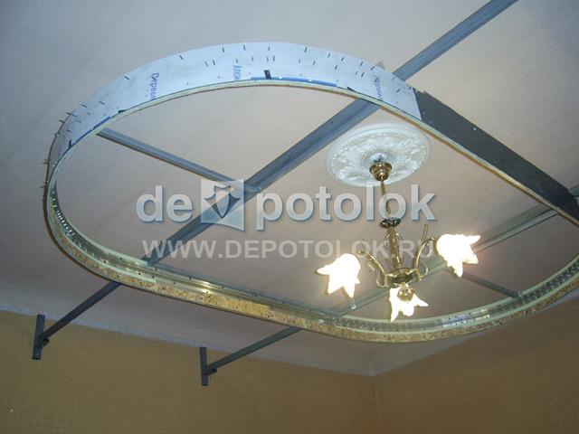 Как сделать двухуровневый натяжной потолок видео - Прайс лист на ГБО 4-го