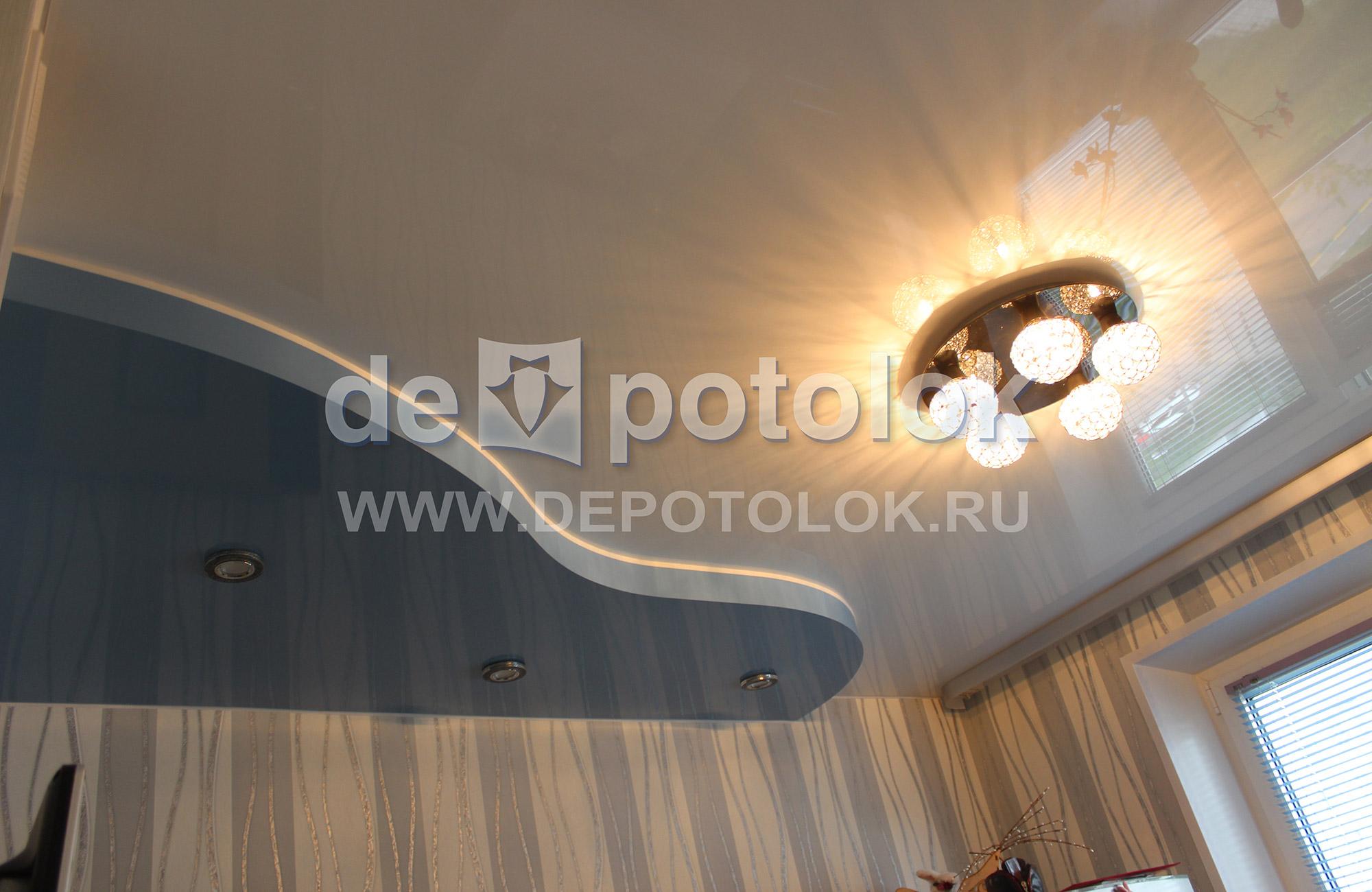 Потолки из гипсокартона своими руками в частном